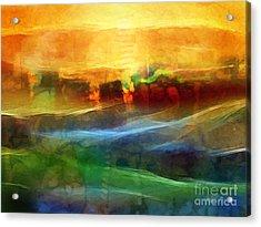 Genesis IIi Acrylic Print by Lutz Baar