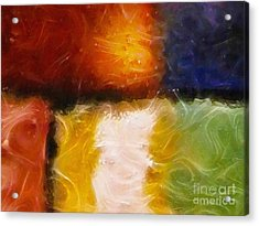 Genesis Iv Acrylic Print by Lutz Baar