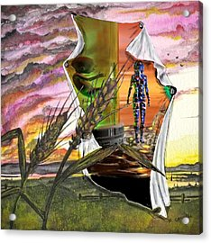 Acrylic Print featuring the digital art Genetically Modified by Darren Cannell
