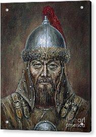 Genhis Khan Acrylic Print
