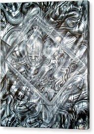 Genius Acrylic Print by Leigh Odom