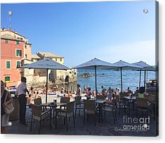 Genova, Boccadasse Acrylic Print