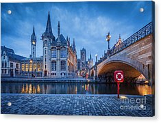 Gent Acrylic Print by JR Photography