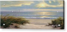 Gentle Breeze Panoramic Acrylic Print