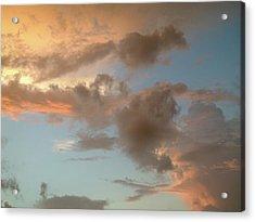 Gentle Clouds Gentle Light Acrylic Print