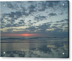Gentle Sunrise Acrylic Print by Cheryl Waugh Whitney