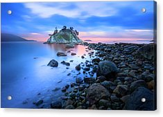 Acrylic Print featuring the photograph Gentle Sunrise by John Poon