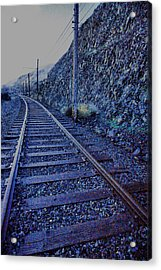 Acrylic Print featuring the photograph Gently Winding Tracks by Jeff Swan