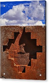 Geo Acrylic Print by Skip Hunt