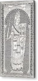 Geoffrey V, First Of The Plantagenets Acrylic Print