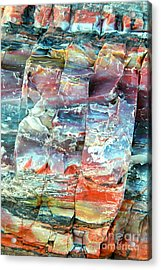Geologist's Rainbow Acrylic Print