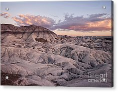 Geology Lesson Acrylic Print by Melany Sarafis