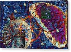 Geometria Sagrada Acrylic Print by Kenneth Armand Johnson