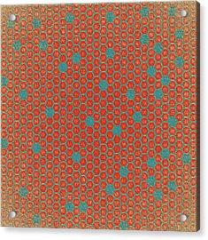 Acrylic Print featuring the digital art Geometric 1 by Bonnie Bruno