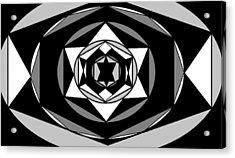 'geometric 1' Acrylic Print