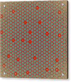 Acrylic Print featuring the digital art Geometric 2 by Bonnie Bruno