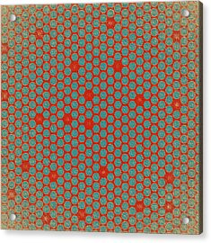 Geometric 2 Acrylic Print by Bonnie Bruno