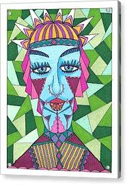 Geometric King Acrylic Print