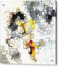 Geometric Minimalist And Abstract Art Acrylic Print