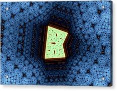 Geometric Patterns No. 50 Acrylic Print by Mark Eggleston