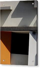 Geometric Shadows Acrylic Print