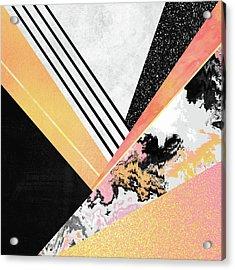 Geometric Summer Acrylic Print by Elisabeth Fredriksson