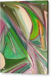 Geometric Tension Series  II Acrylic Print by Patricia Cleasby