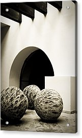 Geometries Acrylic Print by Levin Rodriguez