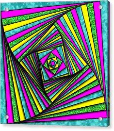 Geometry Art Acrylic Print