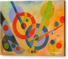 Geometry Acrylic Print by Sandy McIntire