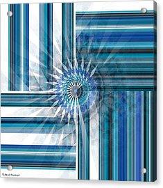 Geometry  Acrylic Print by Thibault Toussaint