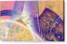 Geomorphic Acrylic Print by Dan Turner