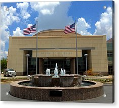 George Bush Library And Museum Acrylic Print by Art Spectrum