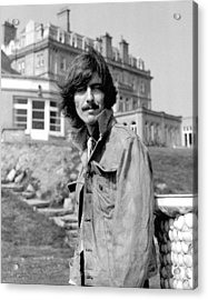 George Harrison Beatles Magical Mystery Tour Acrylic Print by Chris Walter
