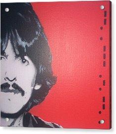 George Harrison Acrylic Print by Gary Hogben