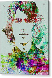 George Harrison Acrylic Print by Naxart Studio