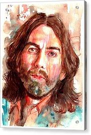 George Harrison Portrait Acrylic Print