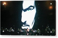 Acrylic Print featuring the photograph George Michael's Eye Appeal by Toni Hopper