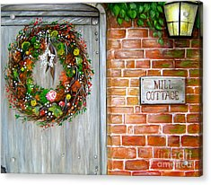 George Michaels Mill Cottage Acrylic Print