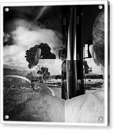 George On The Bus Acrylic Print