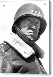 George S. Patton Unknown Date Acrylic Print