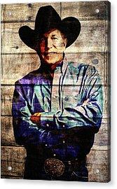 George Strait Acrylic Print