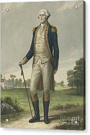 George Washington, 1859 Acrylic Print by Hezekiah Wright Smith