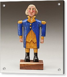 George Washington Acrylic Print by James Neill