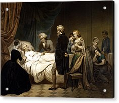 George Washington On His Deathbed Acrylic Print