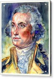 George Washington Portrait Acrylic Print