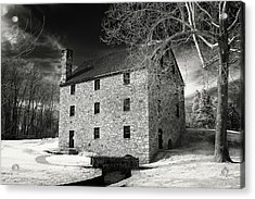 George Washingtons Gristmill Acrylic Print