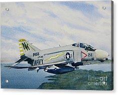 George's Fighter Plane Acrylic Print