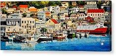 Georgetown Harbor, Grenada Acrylic Print