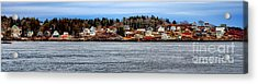 Georgetown Island Bay Point In Maine Acrylic Print